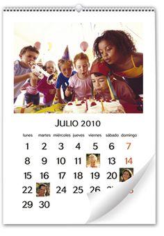 Calendario de Pared Mediano