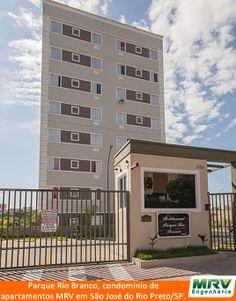 Paisagismo do Rio Branco. Condomínio fechado de apartamentos localizado em São José do Rio Preto / SP.