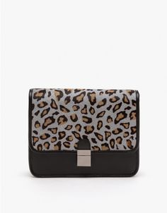 Benah / Kodi Large Leopard Leather Bag