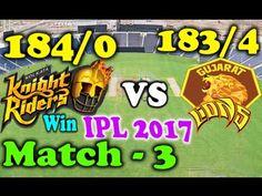 by Sports Gallery 4U · IPL 2017 Match 3 - Kolkata Knight Riders(KKR) vs Gujarat Lions(GL