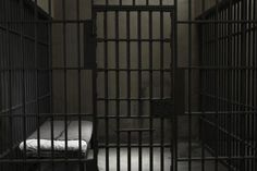 As Fay is in jail, this is what her cell looks like; cold and lonely.
