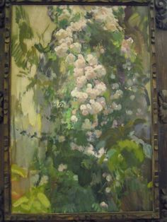 Las palabras mágicas: Sorolla Museum, Madrid Garden Painting, Garden Art, Nature Paintings, Landscape Paintings, Outdoor Paint, Painter Artist, European Paintings, Spanish Artists, Contemporary Landscape
