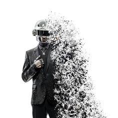 Daft Punk Splashed 2 by Dessins-Fantastiques
