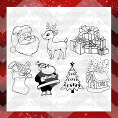 This listing is for a set of Christmas Set design files   What you will receive:  SVG File PNG File  Note - The watermark you see in the listing image is for copyright reasons only, & will not be on the files you purchase.  These files are great for printing, cutting, crafting, and so