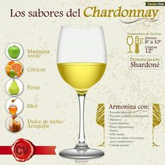 Chardonnay - Wine #Infographic #cCreams #cYellow
