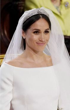 356e8e8841fd4a Meghan Markle tiara at Royal Wedding: Duchess of Sussex arrives at windsor  Castle wearing veil and tiara - here's all the details on the royal  accessory
