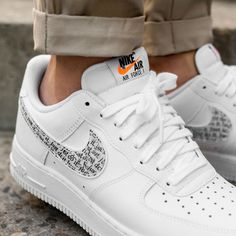 outlet store fc8ff 2eb40 Air Force 1 Just Do It (via Overkill) Nike Airforce 1,