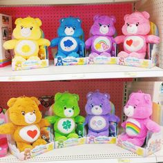 New Care Bears Plushes Care Bear Party, Care Bear Birthday, 1st Birthday Girls, Care Bears Plush, Bear Theme, Bear Doll, Vintage Toys, Retro Toys, Brother Quotes
