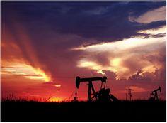 Sundown in Odessa - what home looks like in West Texas