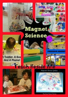 Magnet Science Fun for Kids from Teach Beside Me