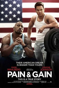 (2013) Pain and Gain - Dwayne Johnson (The Rock), Mark Wahlberg, Tony Shalhoub