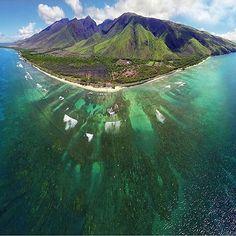 The beautiful island of Maui. Photo via @tourhawaii . Photo by @joewestphotography