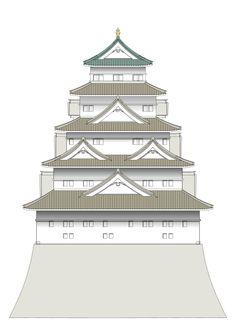 Osaka Castle Keep tower(1627 - 1665)