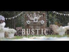 "Backstage / За кадром. Свадебный декор в стиле ""Rustic"". - YouTube"