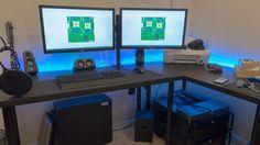 My QUAD Xeon Work / Battlestation