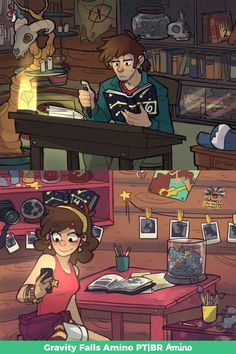 Written by Dipper Pines. Illustrations by Mabel Pines. Written by Dipper Pines. Illustrations by Mabel Pines. Anime Gravity Falls, Gravity Falls Fan Art, Gravity Falls Comics, Gravity Falls Journal, Gravity Falls Dipper, Gravity Falls Bill, Gravity Falls Fanfiction, Gravity Falls Secrets, Gravity Falls Characters