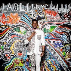 Laolu Senbanjo el artista tras el bodypaint de Lemonade