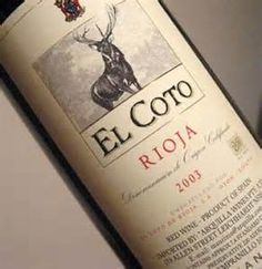 El Coto Rioja Red 2002 - Product of Spain