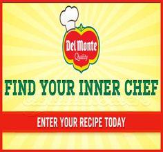 Del Monte Contest: Share a Recipe & Win!