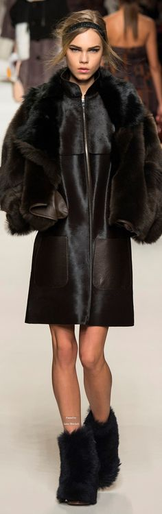 Fendi Collections Fall Winter 2015-16 collection
