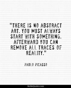 Art Quotes Picasso Arts quotes on pinterest 114