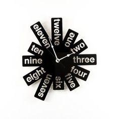 Reloj pared grande corte acrílico negro reloj números gráfico moderno plata manos única pared reloj decoración Funky estreno regalo
