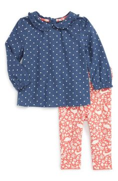 e166b4a7e8a43 Mini Boden Print Top & Leggings Set (Baby Girls & Toddler Girls)