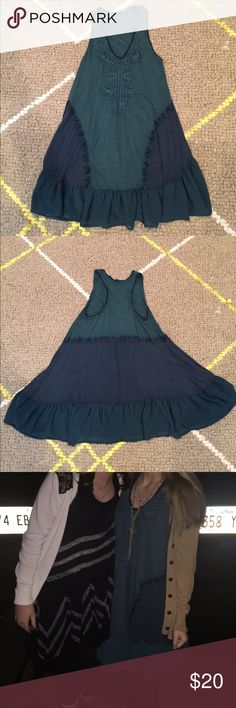 Free People Swing Dress S Fun dress from Free People. Daughter wore once for Birthday party. She's an extra small and it was plenty big on her. Tags were removed. Free People Dresses