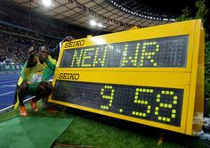 Usain Bolt New World Record 100 Metres.