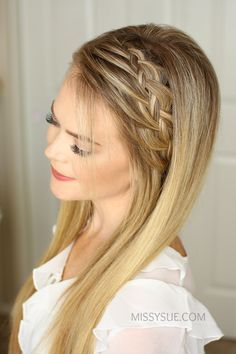 One of my favorite hair tutorials is the Double Braided Ponytail. It looks like such an intricate braid but is actually two braids in one. It got me thinking though, what if it was just one braid? That's where this braid came from. It looks…