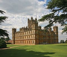 Downton Abbey aka High Clere castle