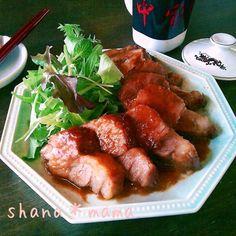 なんとレンジで♪とっておきの肉汁溢れるピリ辛味噌焼豚♪ by しゃなママ | レシピサイト「Nadia | ナディア」プロの料理を無料で検索