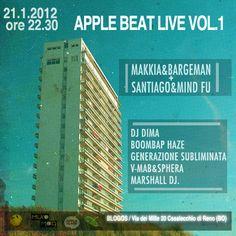 x Apple Beat Live Vol.1 • 21/1/ 2012