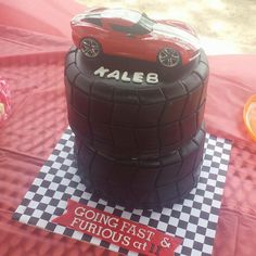 Fast and Furious Cake