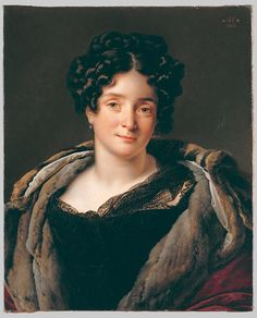 Anne-Louis Girodet de Roussy-Trioson. Madame Jacques-Louis Étienne Reizet. 1823. Oil on canvas. Metropolitan Museum of Art. New York, NY. USA.