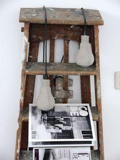 Vosgesparis: 2 concrete bulbs + a ladder makes a loft MY HOME