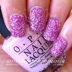 752128ce79 Nail Glitter Light Pink Sparkle Glitter Dust Powder Nail Art