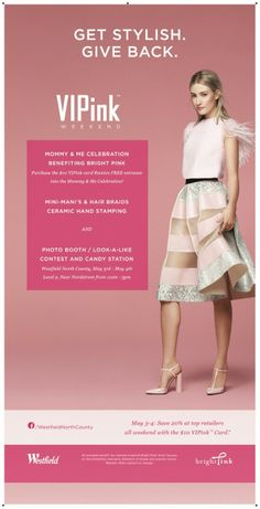 Pinning this for that cute dress! Style Your Life, Wardrobe Stylist, Personal Stylist : VIPink 'Mommy & Me' Westfield Giveway