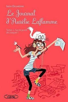 Couverture de Le Journal d'Aurélie Laflamme, tome 2 : Sur le point de craquer ! Pdf Book, Jean Mermoz, Importance Of Library, Go M, Lectures, Le Point, Love Book, Science Fiction, Journal