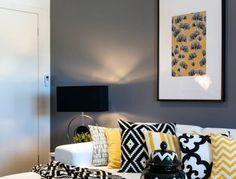 Déco salon gris - 88 super idées pleines de charme