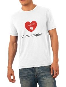 Love Portrait Photo T-shirt for photolovers #thinkandshoot