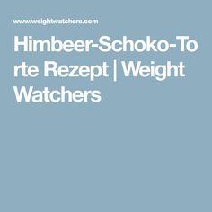 Himbeer-Schoko-Torte Rezept | Weight Watchers