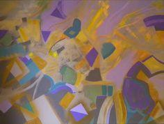"""""""Shoot The Moon"""" Acrylic on Canvas. 36"""" x 48' x 1.5"""" Artist. G. Sellen www.gordonsellen.com"""