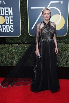 Diane Kruger Golden Globes - 2018 Golden Globes Red Carpet