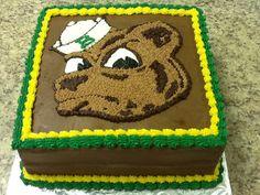 Baylor grooms cake