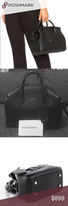 Balenciaga Infanta Boston S Hi Balenciaga Lovers! This fabulous bag is a Medium sized grained calfskin boston bag with removable and adjustable strap. ( Sold Out online ) I actually got this beautiful balenciaga bag as my birthday gift :) And I only used this bag to go out to a dinner one time only!!! This bag has been kept nicely in a balenciaga dust bag in my lovely closet, so this balenciaga bag looks absolutely like a brand new bag! :) ** Happy to trade with crossbody bags, Please make…