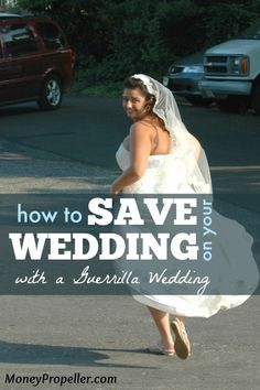 """A guerrilla wedding is basically an impromptu ceremony where you, your fiancé, an officiant, and few guests (and a photographer, if you`d like) literally just show up, unannounced, to whatever location you choose to say your """"I Do`s"""". It has become a modern-day version of eloping."""