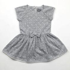 Kapital K grey heather hearts dress