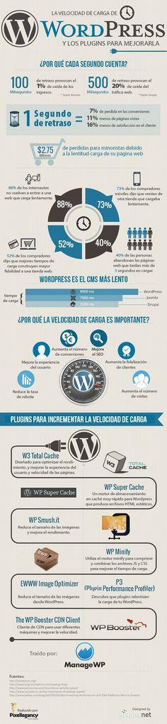La Importancia de la Velocidad de Carga de WordPress (Infografía)