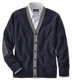 Just found this V-Neck Button-Front Cardigan For Men - Rusland Button-Front Cardigan -- Orvis on Orvis.com!